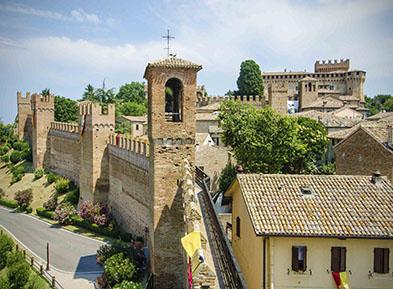 La Romagna: Entroterra